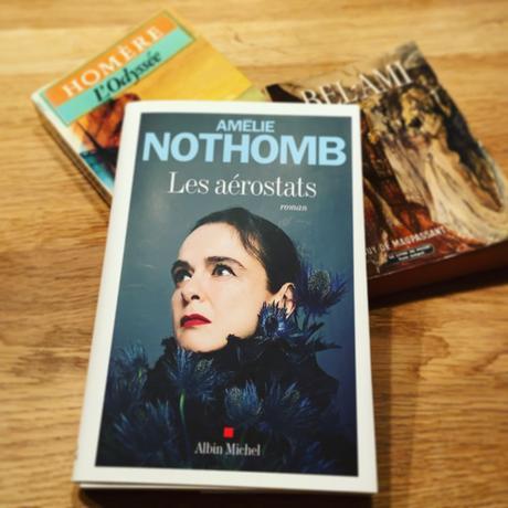 J'ai lu: Les aérostats d'Amélie Nothomb