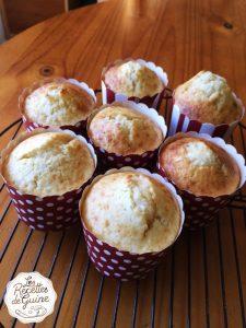 Recette de muffins au chocolat blanc