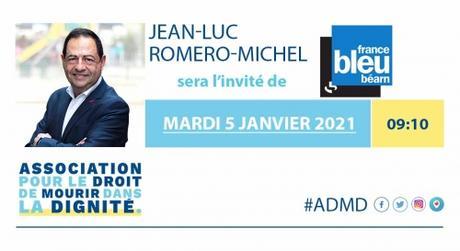 Invité de France Bleu Bearn-Bigorrecle mardi 5 janvier, à 9h10.