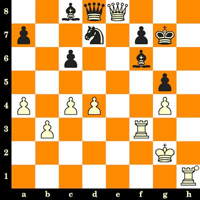 Les Blancs jouent et matent en 3 coups - Lubomir Kavalek vs Ilkka Kanko, Halle, 1963