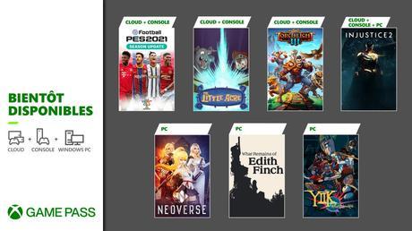 Game Pass – De nouveaux jeux en Janvier 2021!