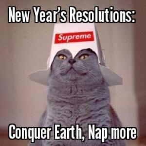 Les bonnes résolutions, ou quelque chose comme ça
