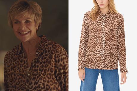 DEMAIN NOUS APPARTIENT : la chemise léopard d'Anne-Marie dans l'épisode 834