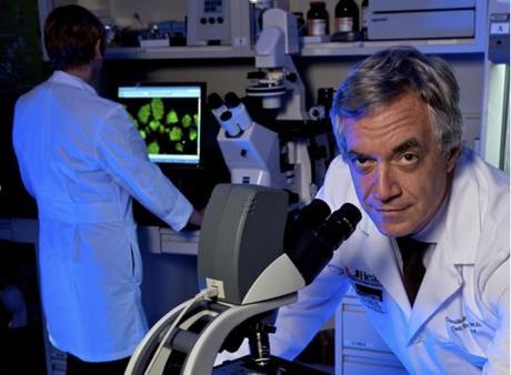 Le Dr Camillo Ricordi étudie les cellules souches mésenchymateuses depuis plus de 10 ans dans le diabète de type 1 (Visuel University of Miami Health System)