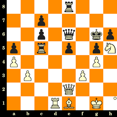 Les Blancs jouent et matent en 3 coups - Lubomir Kavalek vs Coen Zuidema, Tel Aviv, 1964