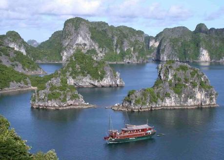 sites Unesco - baie d'halong