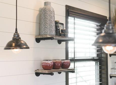 étagère style industriel tube métal we can do rangement ouvert cuisine