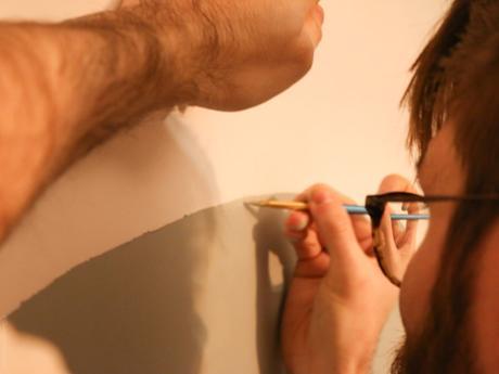 DIY – Créer sa tête de lit en peinture