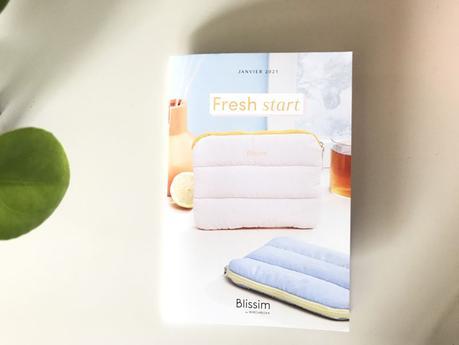 Le récap' de la box Blissim Fresh start