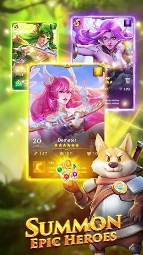 Code Triche War and Wit: Heroes Match 3 APK MOD (Astuce) 2