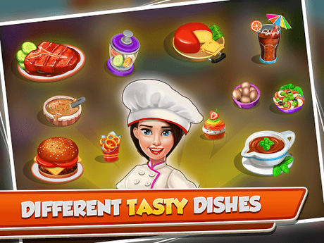 Télécharger Cooking Crush - Madness Crazy Chef Cooking Games APK MOD (Astuce) 5