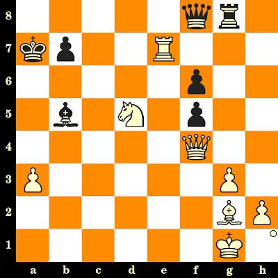 Les Blancs jouent et matent en 3 coups - Rajko Bogdanovic vs Darko Gliksman, Kraljevo, 1967