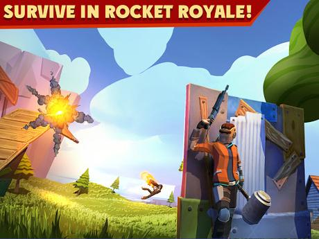 Télécharger Rocket Royale  APK MOD (Astuce) 1