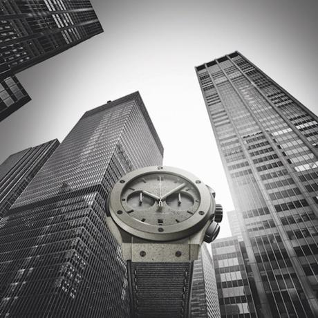 HUBLOT PRESENTE LA CLASSIC FUSION CONCRETE JUNGLE, INSPIREE PAR NEW YORK