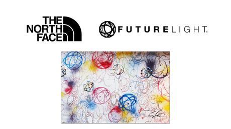 Futura attaque The North Face pour l'utilisation d'un logo
