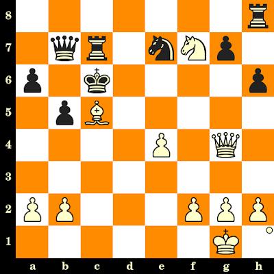 Les Blancs jouent et matent en 3 coups - Isaac Boleslavsky vs Roman Dzindzichashvili, URSS, 1967