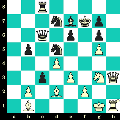 Les Blancs jouent et matent en 2 coups - Etienne Bacrot vs Laurent Fressinet, Besançon, 1999
