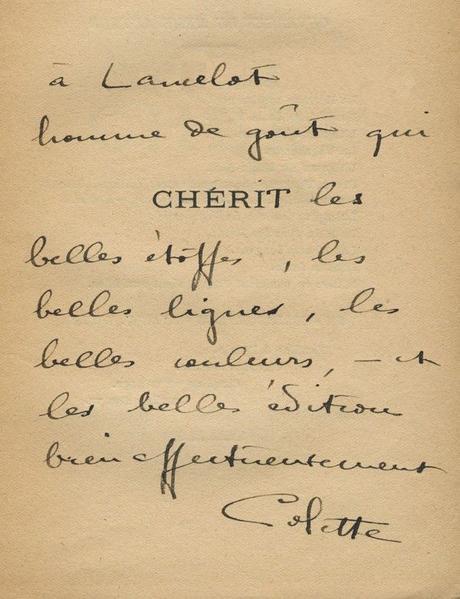 1921 – La Littérature – Colette