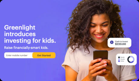 Greenlight introduces investing for kids