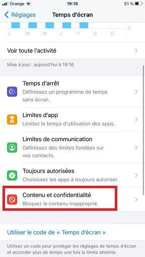 Activer le contrôle parental sur YouTube pour iPhone