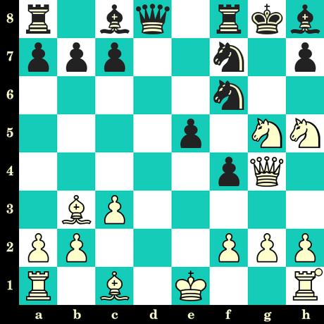 Les Blancs jouent et matent en 2 coups - Ludwig Deutsch vs B Zambo, Zalakaros, 1999