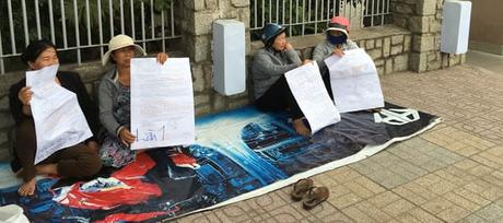 Nha Trang - manifestation droit de homme