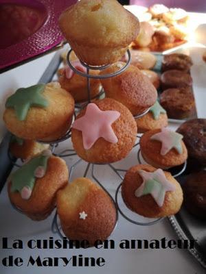 Petits gâteaux au yaourt à la coco