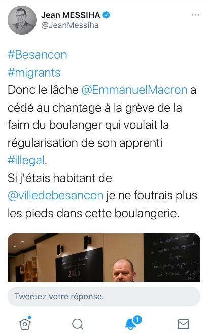 A quand un procès public contre @JeanMessiha pour apologie de la xénophobie ?