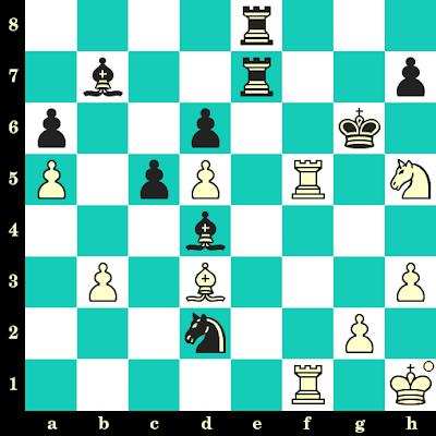 Les Blancs jouent et matent en 2 coups - Maia Chibourdanidzé vs Roman Slobodjan, Lippstadt, 2000