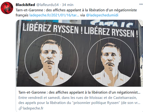 NON. #Ryssen #antisémitisme