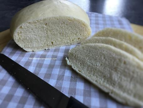 Pain de mie sans croûte cuisson vapeur recette facile au companion thermomix ou sans robot
