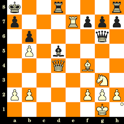 Les Blancs jouent et matent en 3 coups - Karl Winter vs Guenter Schuchardt, corr., 1967