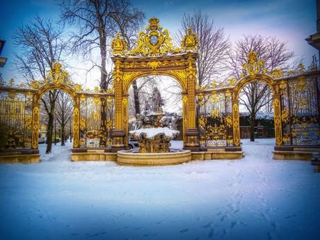 Place Stanislas sous la neige © French Moments