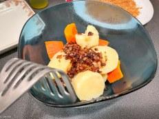 Sans friture – Croquettes japonaises de pommes de terre et de potimarron (korokke)