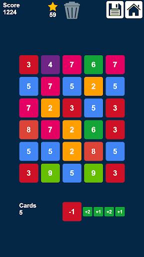 Télécharger Gratuit glisser et fusionner des nombres: jeu de nombres  APK MOD (Astuce) 3