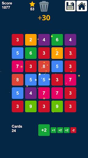 Télécharger Gratuit glisser et fusionner des nombres: jeu de nombres  APK MOD (Astuce) 6