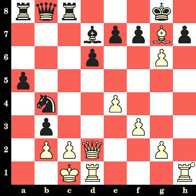 Les Blancs jouent et matent en 4 coups - Francesco Nitti vs Costanzo, Ciocco, 1975