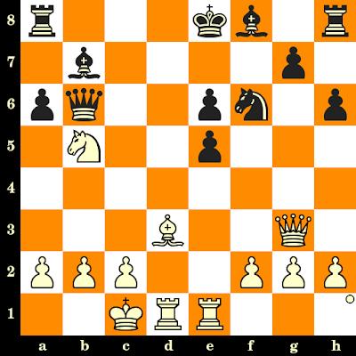 Les Blancs jouent et matent en 3 coups - Georgy Bastrikov vs Izrail Kogan, Minsk, 1971
