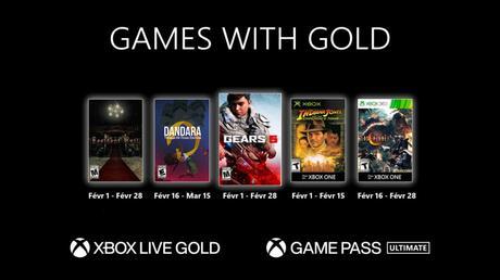 Games With Gold – les jeux de Février 2021!