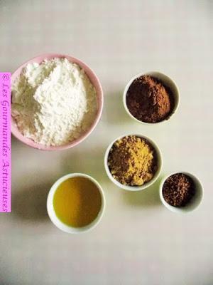Sablés chocolat-café (Vegan)