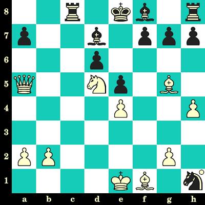 Les Blancs jouent et matent en 2 coups - Surya Ganguly vs M R Venkatesh, Calicut, 2003