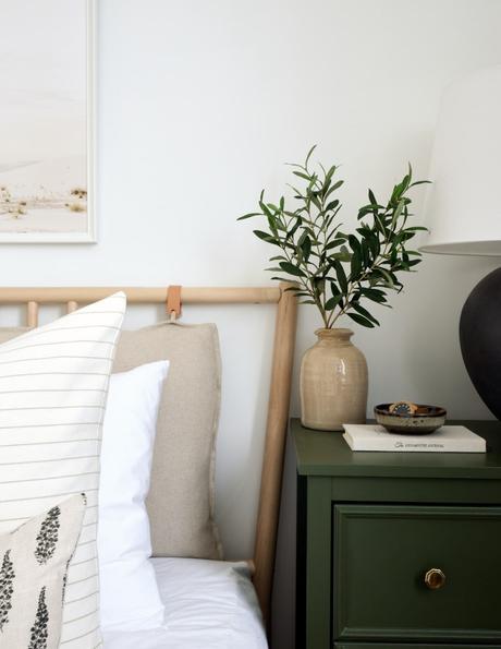 tête de lit diy bois cuir - blog déco - clem around the corner