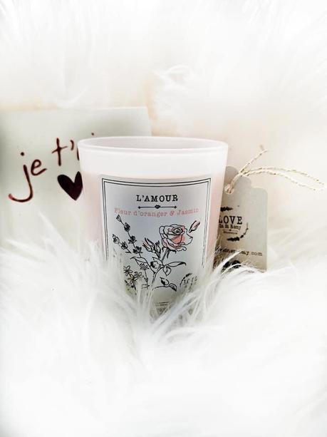 Ma Bougie Parfumée L'AMOUR Love In St Rémy
