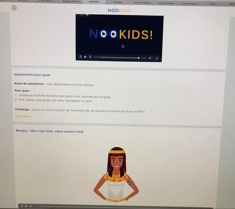 NOOKIDS! : un escape game intéractif