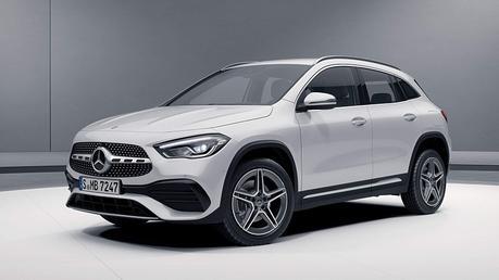 La MERCEDES GLA élue plus belle voiture de l'année 2021