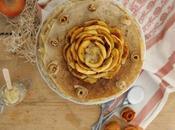Gâteau crêpes pommes