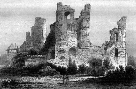 Ruines du château de Nomeny
