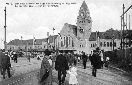 Inauguration de la Gare 17 août 1908