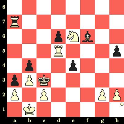 Les Blancs jouent et matent en 4 coups - Mikhail Tal vs Ivan Radulov, Leningrad, 1977