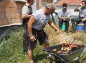 Tendance jardin brouette barbecue
